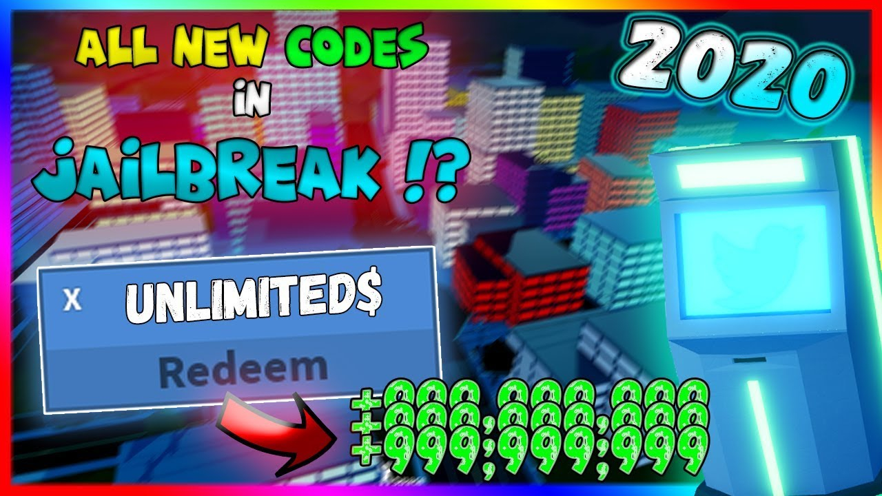 All Latest Codes In Jailbreak 2019 Roblox Mp3 10 50 MB