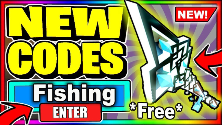 ALL NEW SECRET CODES ROBUX GIVEAWAY Roblox Fishing