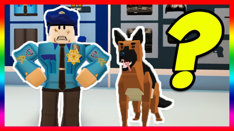 JAILBREAK POLICE DOGS UPDATE COMING Roblox YouTube