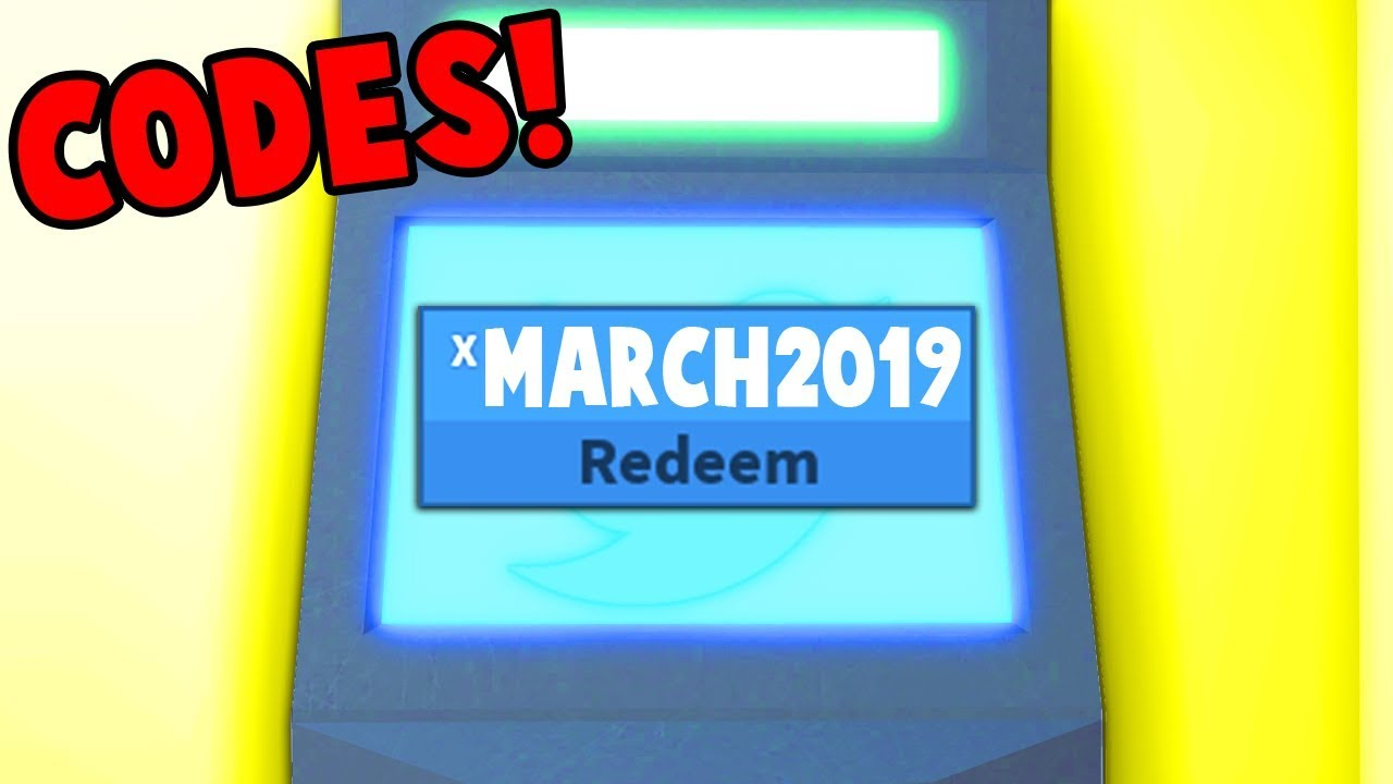 NEW ROBLOX JAILBREAK CODES MARCH 2019 YouTube