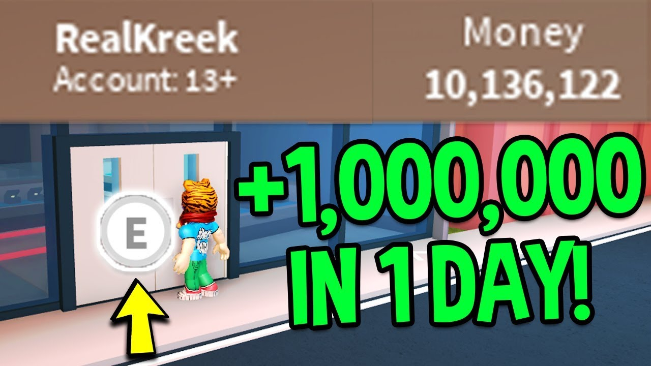 Roblox Jailbreak HOW TO MAKE MONEY FAST 1 MILLION IN A