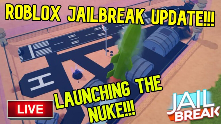 ROBLOX JAILBREAK LIVE NEW NUKE UPDATE VIEWERS CAN JOIN