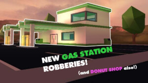 ROBLOX NEW GAS STATION ROBBING IN JAILBREAK YouTube