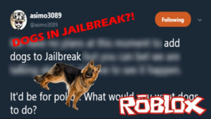 UPCOMING POLICE DOGS UPDATE IN ROBLOX JAILBREAK YouTube