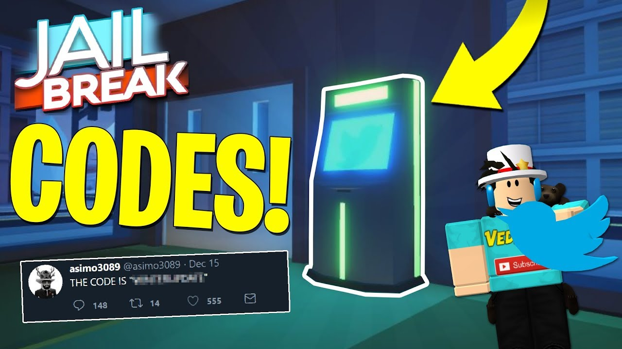 CODES COMING IN JAILBREAK NEW VEHICLES Roblox YouTube